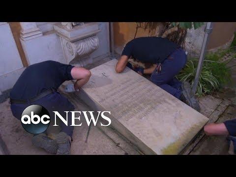 Investigators open tomb Vatican in search of teen's remains