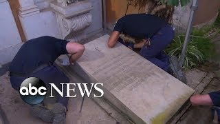 Investigators open tomb Vatican in search of teen's remains