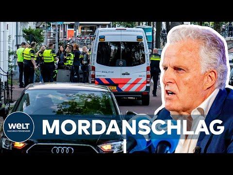 NIEDERLANDE unter SCHOCK: Berühmter Reporter Peter R. de Vries in AMSTERDAM niedergeschossen