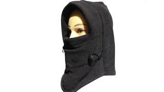 зимова шапка-маска вітрозахисна для риболовлі, рибальська екіпірування, інтернет магазин без треку