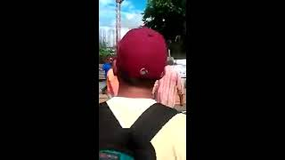 Abofetean a Guardia Nacional en Venezuela