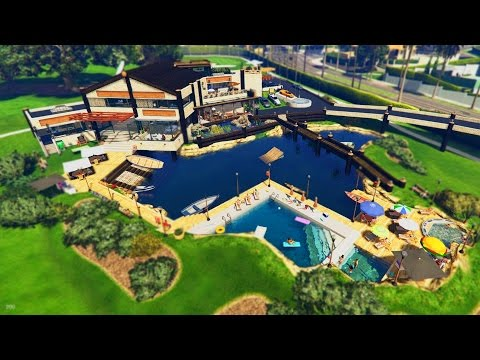 NEW LUXURY MANSIONS IN GTA 5! - BUYING HOUSES, VILLAS & MORE! (GTA 5)