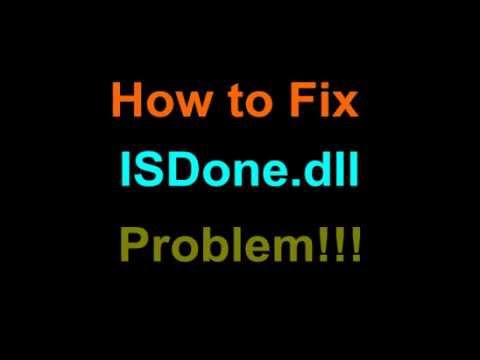 Isdone Dll Error Fix Black Box Games