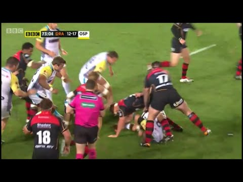 Wayne Barnes teaches a lesson Nigel Owens ought to learn