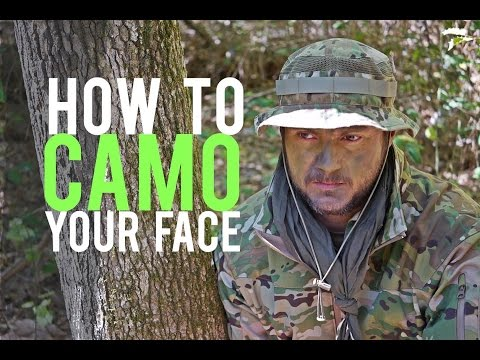 How To Camo Your Face