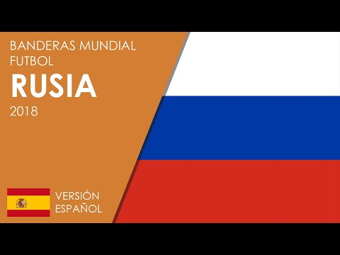 Banderas Mundial De Fútbol Rusia 2018