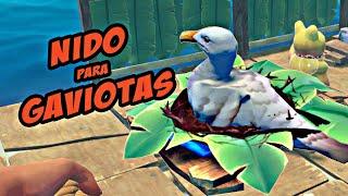 EL NIDO PARA GAVIOTAS - Raft Coop con la Cosi (Survival Game) #3