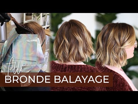 Fall Bronde Balayage | How to do this 2019 Fall Hair Color Trend with my Foilayage Technique