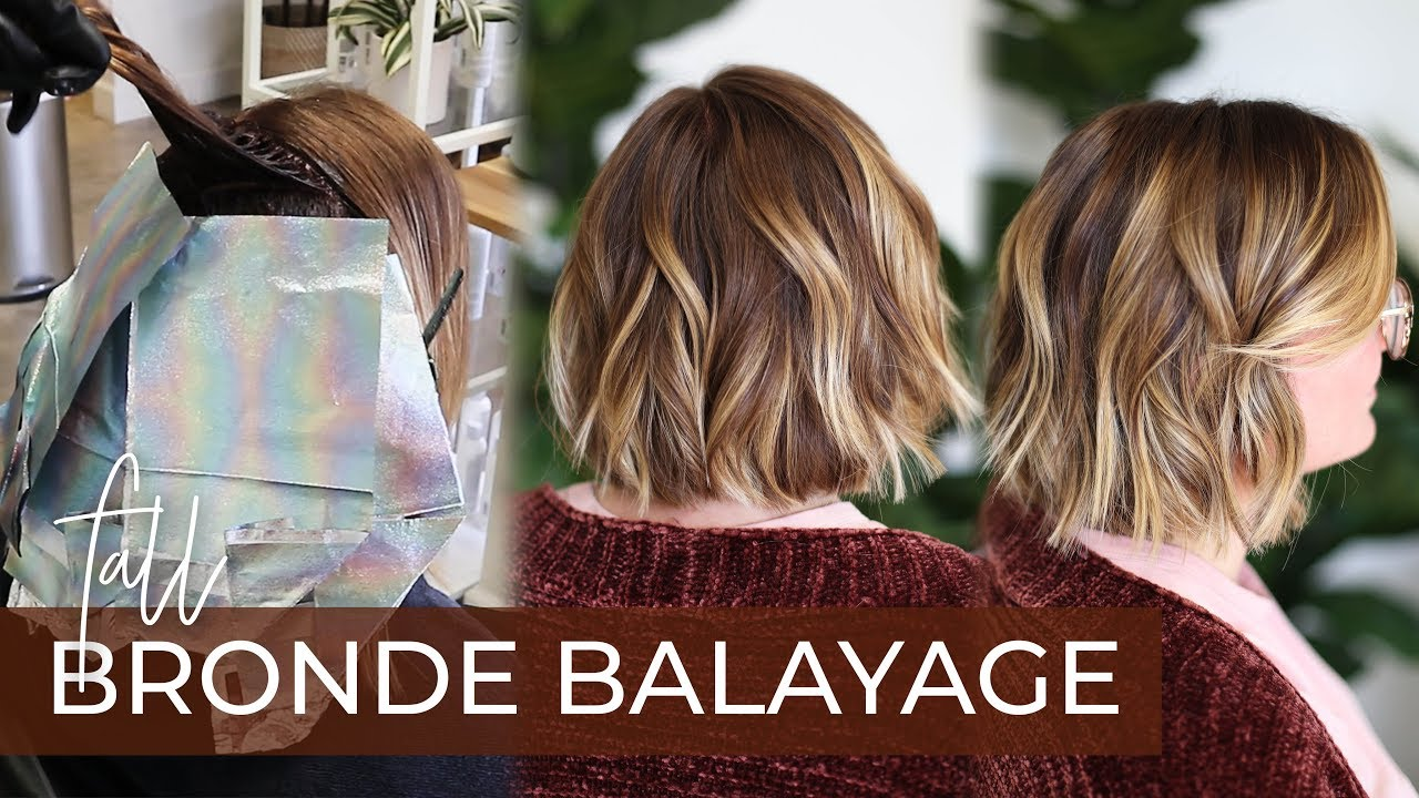 Fall Bronde Balayage How To Do This 2019 Fall Hair Color Trend With My Foilayage Technique
