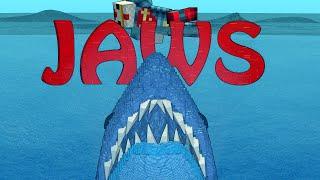 Minecraft | FISHING CHALLENGE - Fishing Mod! (JAWS, SHARKS, BOAT MOD)
