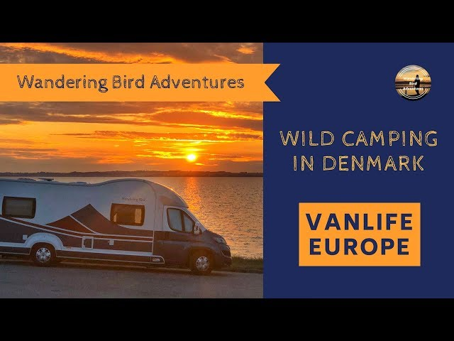 Wild Camping in Denmark  Vanlife Europe  Summer Motorhome Road Trip 2018