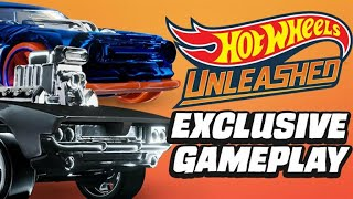 Hot Wheels Unleashed Exclusive Gameplay