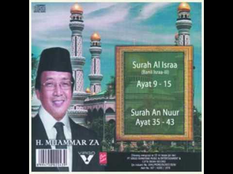 H.Muammar ZA Surah (24) An-Nuur Ayat 35-43 Full
