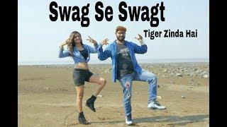 Swag se swagat song Dance Choreography | Tiger Zinda Hai | Hemin Mistry Ft. Srushti Shah