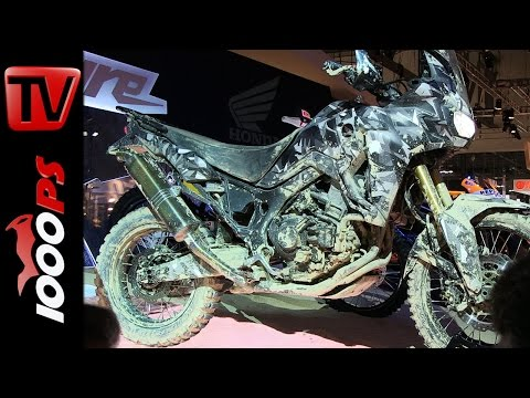 "Honda ""Africa Twin"" True Adventure Prototype 2015"
