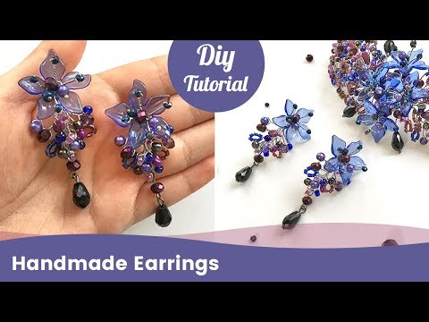 how-to-make-beaded-earrings-with-crystals,-beads-and-wire