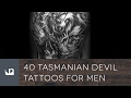 40 Tasmanian Devil Tattoos For Men mp3