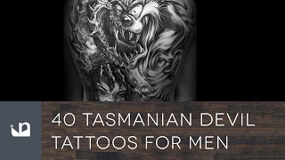 Video 40 Tasmanian Devil Tattoos For Men download MP3, 3GP, MP4, WEBM, AVI, FLV Agustus 2018