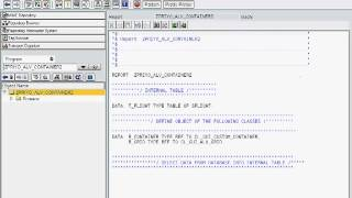 SAP ABAP Basic ALV Report using OOPS (OO ABAP)