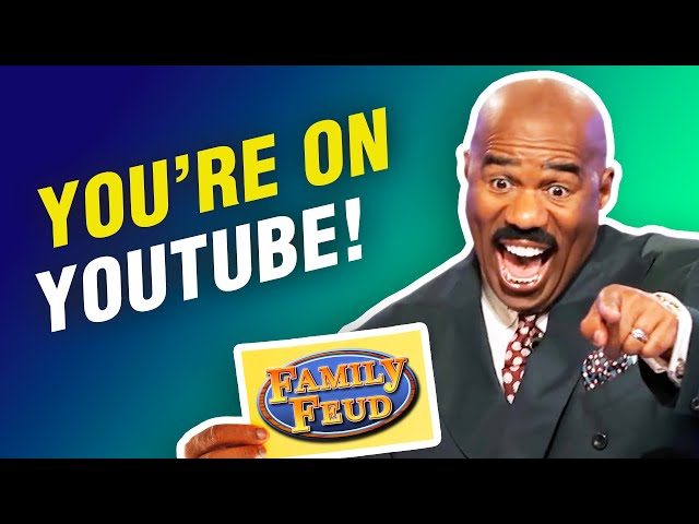 Steve Harvey knew these answers would end up on YouTube!