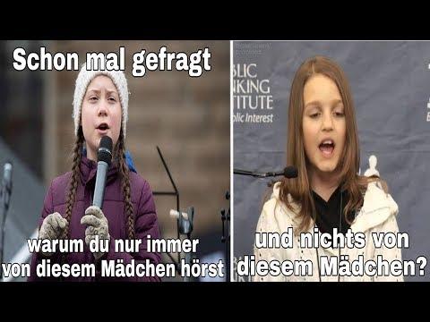 """Warum Greta Thunberg ein """"Star"""" ist und Victoria Grant niemand kennt! (""""Wir werden beraubt!"""")"""