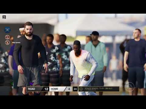 NBA LIVE 18 FUNNY GAME PLAY