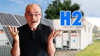 Autark Wohnen mit Solar und Wasserstoff - Lebenslang für 60.000 €? (HPS Picea) | dieserdad