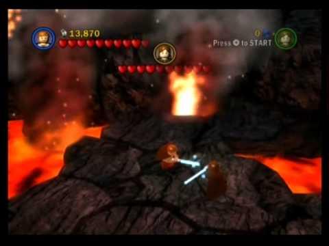 Lego Star Wars The Complete Saga Walkthrough Part 18 Revenge Of The Sith Darth Vader Youtube