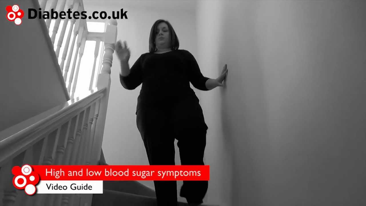 High and Low Blood Sugar Symptoms