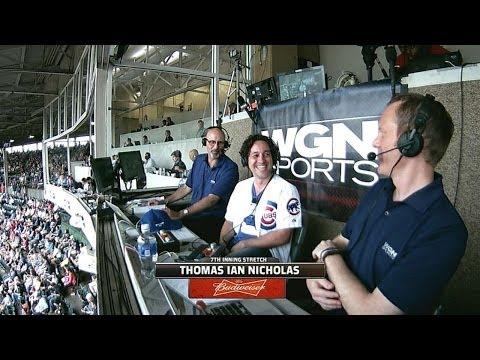 ATL@CHC: Thomas Ian Nicholas talks Wrigley Field