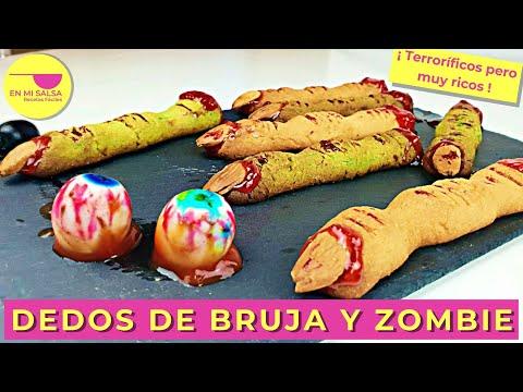 Dedos de Bruja y Zombie por el canal En mi Salsa
