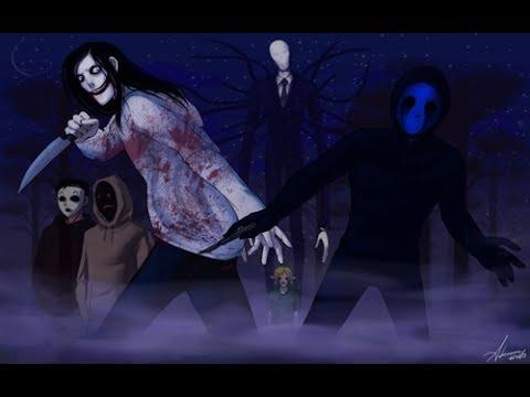 Jeff the Killer vs Eyeless Jack : Aparición de... Espectros   Parte # 1   Cuentos De-Mentes