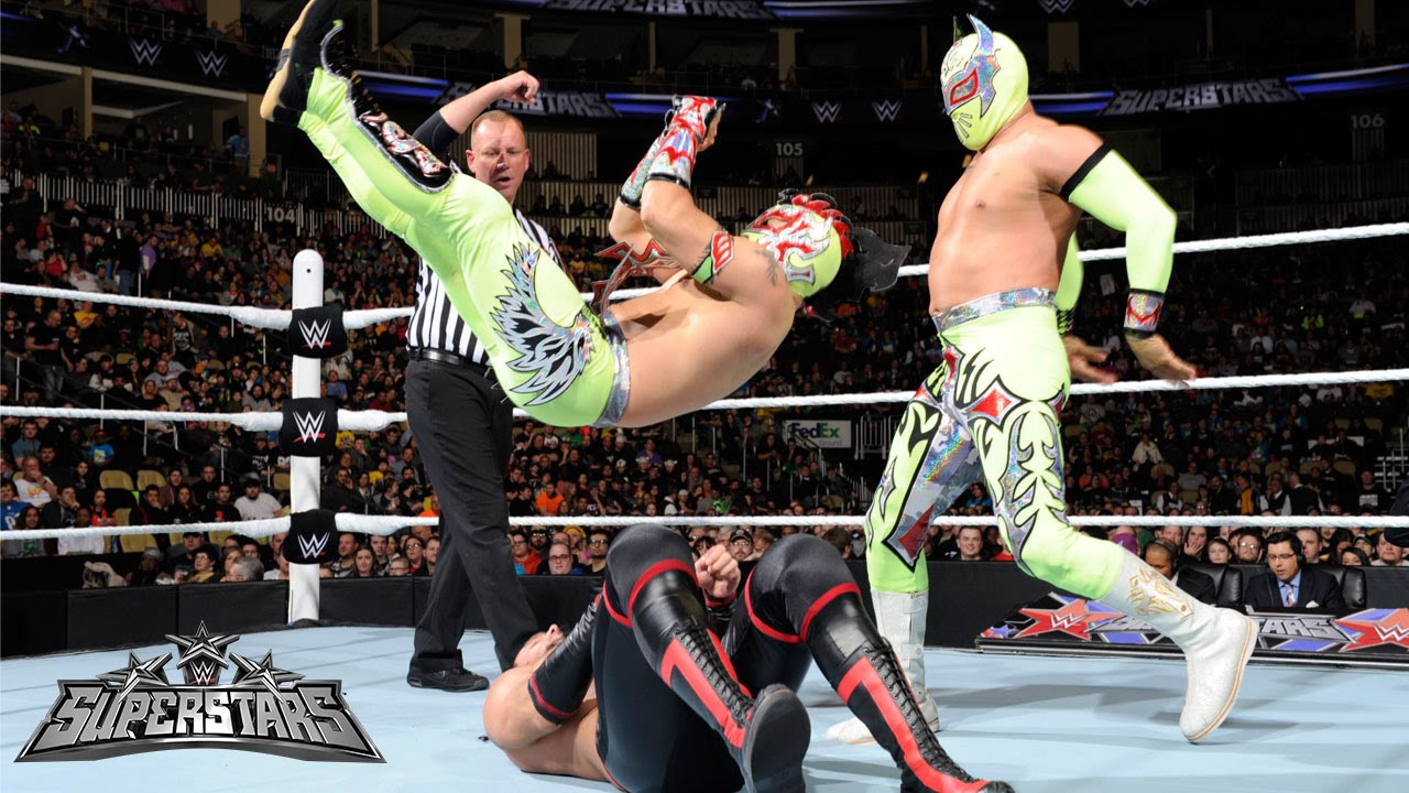 Vidios De Lucha Libre The Lucha Dragons Vs The Ascension Wwe Superstars March 13 2015