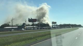 Repeat youtube video Southside Recycling fire Prairieville