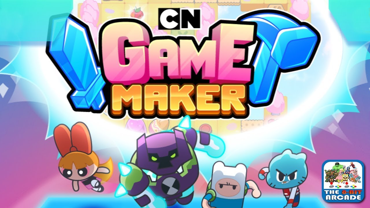 Cartoon Network Game Maker - Create and Play in your own Reality (Cartoon  Network Games)