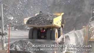Off-Highway Haul Truck In Action