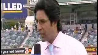 Wasim Akram's comments about Seam & Swing Bowling