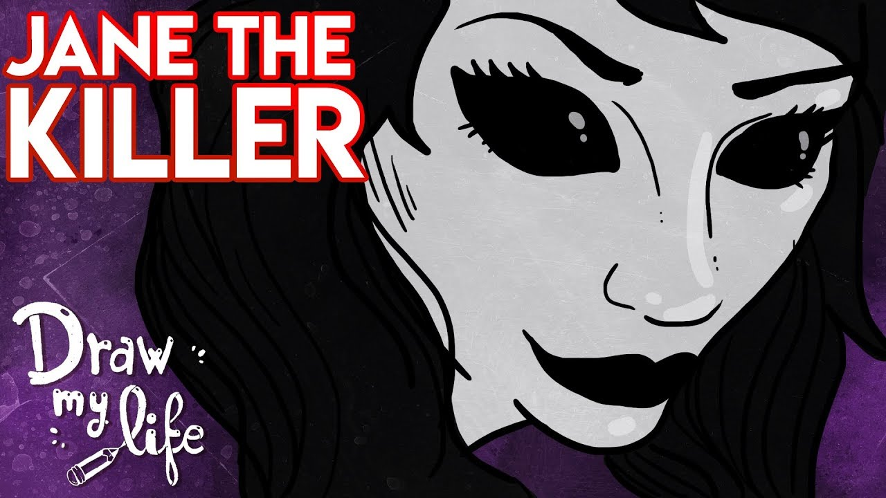 La HISTORIA de JANE the KILLER | Personaje Creepypasta | Draw My Life