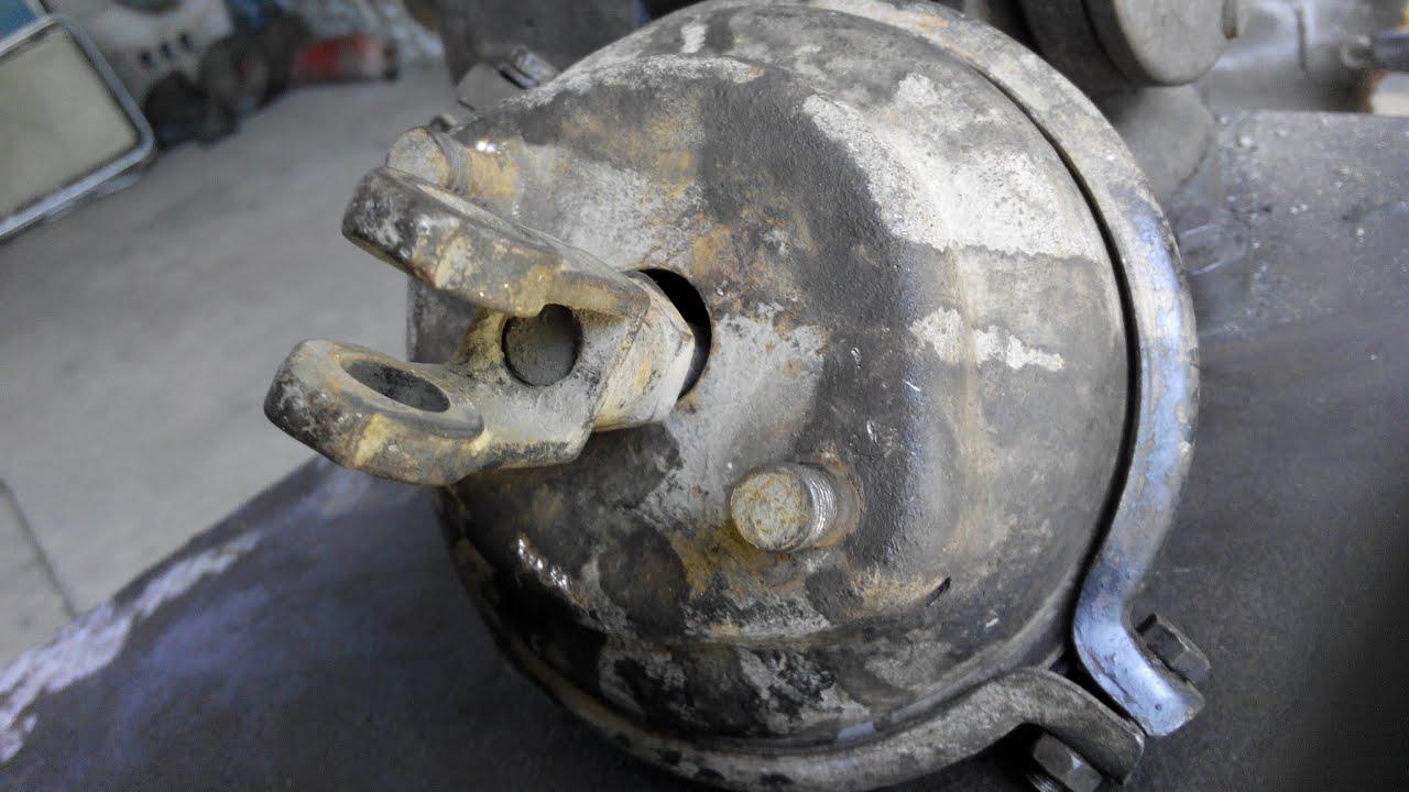 Ремонт тормозной камеры замена диафрагмы ГАЗ ЗИЛ ПАЗ КАМАЗ МАЗ