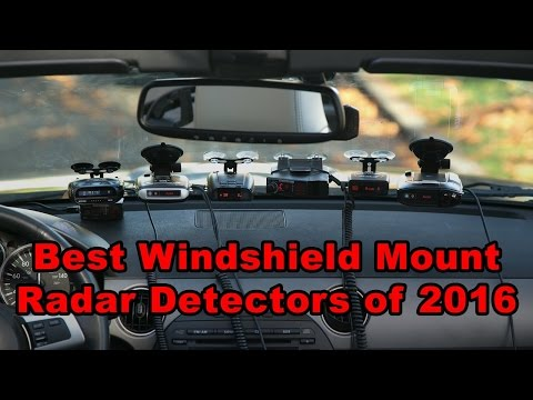 10 Best Radar Detectors of 2016 & 2017 (Windshield Mounts)
