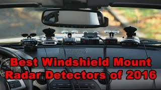10 Best Radar Detectors of 2016 (Windshield Mounts)