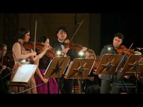 Vivaldi: Concerto for 4 Violins / Maxim Vengerov, Bomsori Kim, Veriko Tchumburidze, Seiji Okamoto.