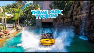 Roblox | Theme Park Tycoon 2 | Jurassic Park: The Ride Recreation | Universal Studios Hollywood
