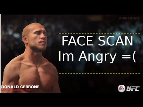 EA SPORTS UFC 2 Face Scan Information And More
