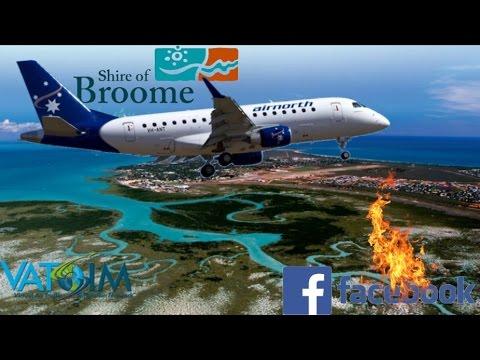 AirNorth Wilco E170 On Vatsim. Ants Aussie Darwin - Orbx Broome
