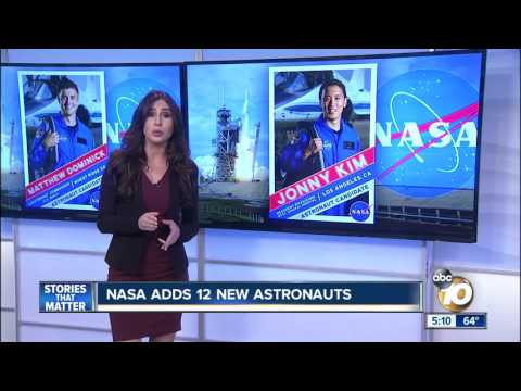 NASA adds 12 new astronauts