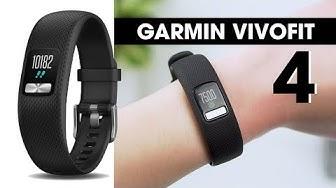 Trên tay Garmin Vivofit 4 l Vòng tay sức khỏe pin vô địch !