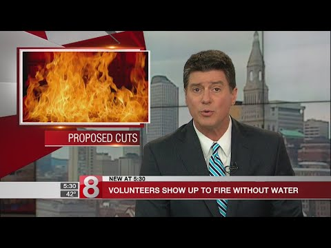 Fire chief says volunteers came to fire without water