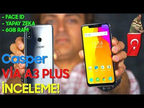 Casper Via A3 Plus inceleme - EN İYİ YERLİ TELEFON!
