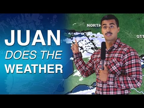 Juan Does The Weather- David Lopez with Cody Johns and Eric Artell
